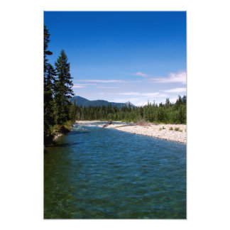 Glacial River Photo Print
