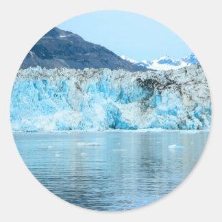 glacier2 classic round sticker