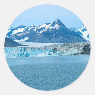 glacier Alaska Classic Round Sticker
