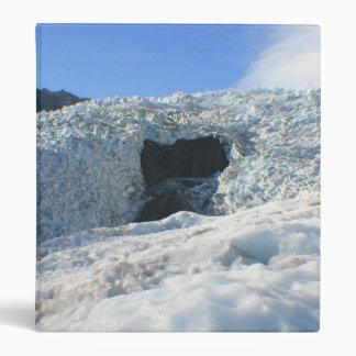 Glacier Arch, New Zealand Vinyl Binder