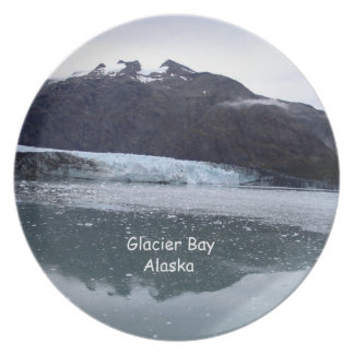 Glacier Bay, Alaska Party Plates