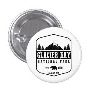 Glacier Bay National Park 1 Inch Round Button