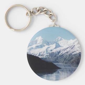 Glacier Bay National Park Basic Round Button Keychain