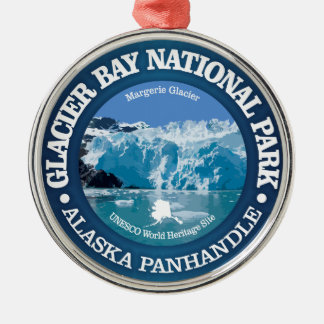 Glacier Bay National Park (color) Metal Ornament