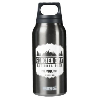Glacier Bay National Park Insulated Water Bottle