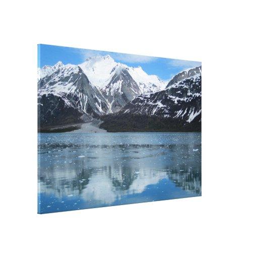 Glacier Bay with reflection Canvas Prints