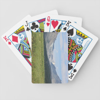 Glacier Bicycle Playing Cards