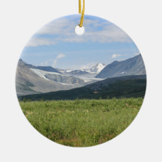 Glacier Ceramic Ornament