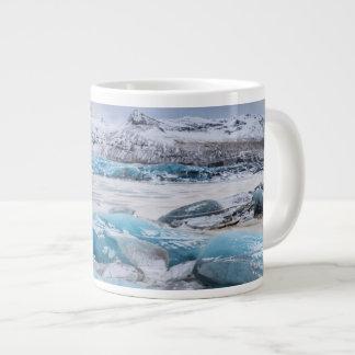 Glacier Ice landscape, Iceland Giant Coffee Mug