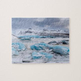 Glacier Ice landscape, Iceland Jigsaw Puzzle
