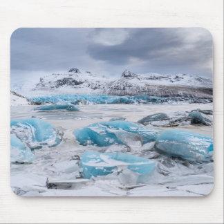 Glacier Ice landscape, Iceland Mouse Pad