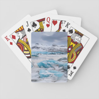 Glacier Ice landscape, Iceland Playing Cards