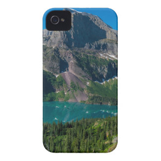 Glacier lake in a mountain, Montana Case-Mate iPhone 4 Cases