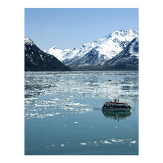 Glacier lifeboat customized letterhead