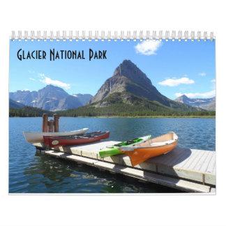 Glacier National Park 2018 Calendar