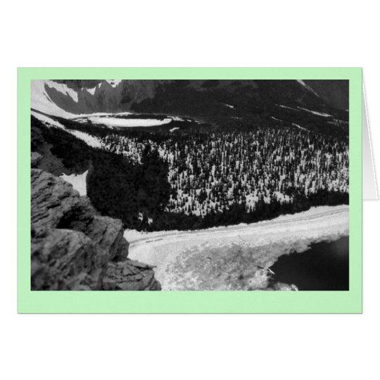 """""""Glacier National Park"""" Card"""