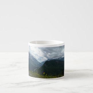 Glacier National Park Espresso Coffee Mug, cup