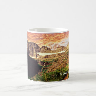 Glacier National Park Grinnell Glacier Trail Coffee Mug