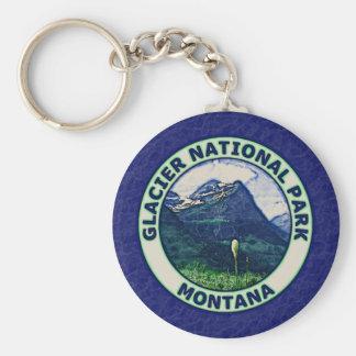 Glacier National Park Keychain