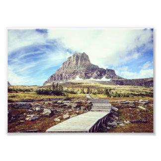 Glacier National Park - Logan Pass Photo Print