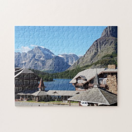 Glacier National Park Many Glacier Jigsaw Puzzle