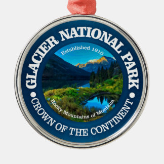 Glacier National Park Metal Ornament