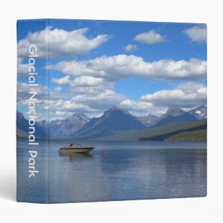 Glacier National Park photography 3 Ring Binders