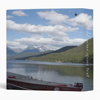 Glacier National Park photography. Binder