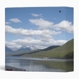 Glacier National Park photography. Vinyl Binders