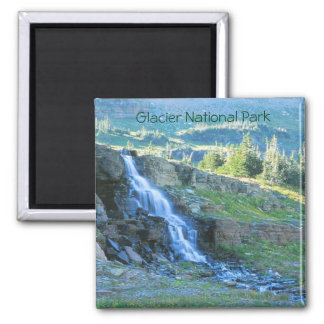 Glacier National Park Waterfall Magnet