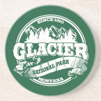 Glacier Old Circle Green Coaster