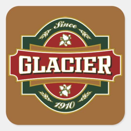 Glacier Old Label