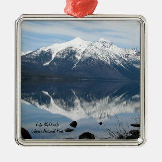 Glacier Park Ornament! Metal Ornament