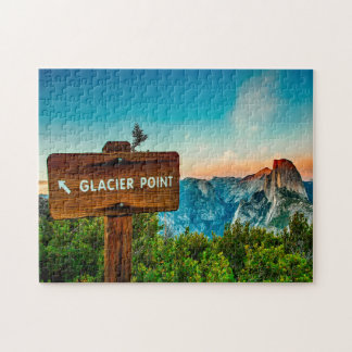 Glacier Point California. Jigsaw Puzzle