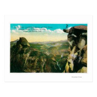Glacier Point, Half Dome, and Yosemite Valley Postcard