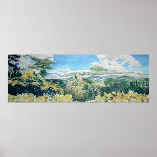 Glacier Point Overlook, Yosemite Print