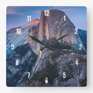 Glacier Point Square Wall Clock