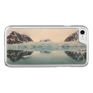Glacier reflections, Norway Carved iPhone 8/7 Case
