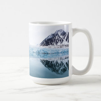 Glacier reflections, Norway Coffee Mug