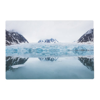 Glacier reflections, Norway Laminated Placemat