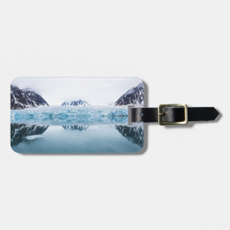 Glacier reflections, Norway Luggage Tag