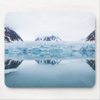 Glacier reflections, Norway Mouse Pad