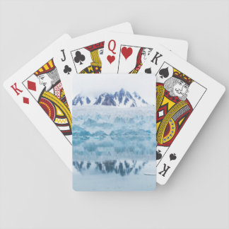 Glacier reflections, Norway Playing Cards