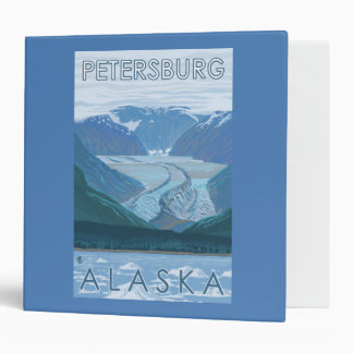 Glacier Scene - Petersburg, Alaska Binder