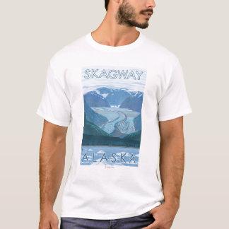 Glacier Scene - Skagway, Alaska T-Shirt