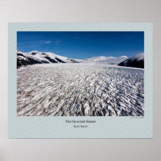 Glacier Series - Taku Inlet 218 Poster