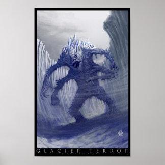 Glacier Terror Poster
