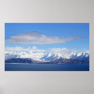 Glacier View Poster
