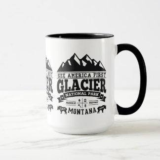 Glacier Vintage Black Mug