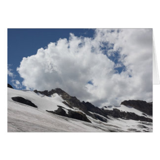 Glacier with Clouds Card